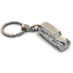 Portachiavi Carro Funebre Mercedes Metallo 2711 SILVER