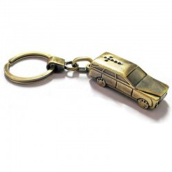 Portachiavi Carro Funebre Cadillac Metallo 2717 BRONZO